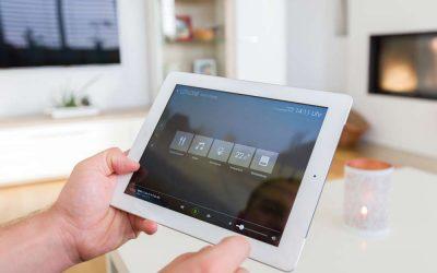 Ovládání domova pomocí inteligentního tlačítka